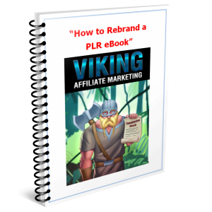 how to rebrand a plr ebook