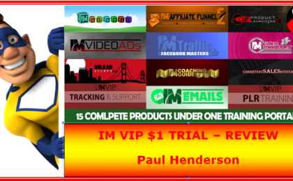 im vip $1 trial review