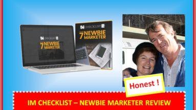 im checklist newbie marketer review